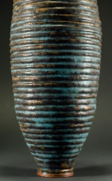 Stoneware Vessel - detail glazing technique