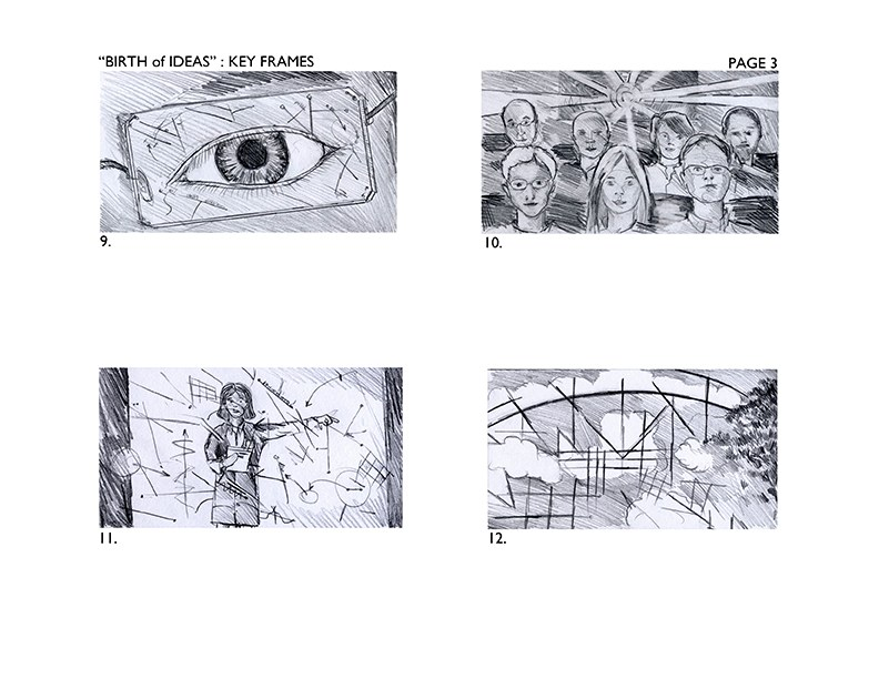 Storyboards for United Health Commercial