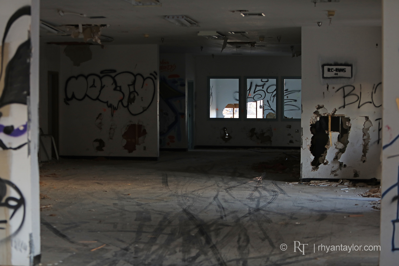 Boron Estates Abandoned Facility Graffiti