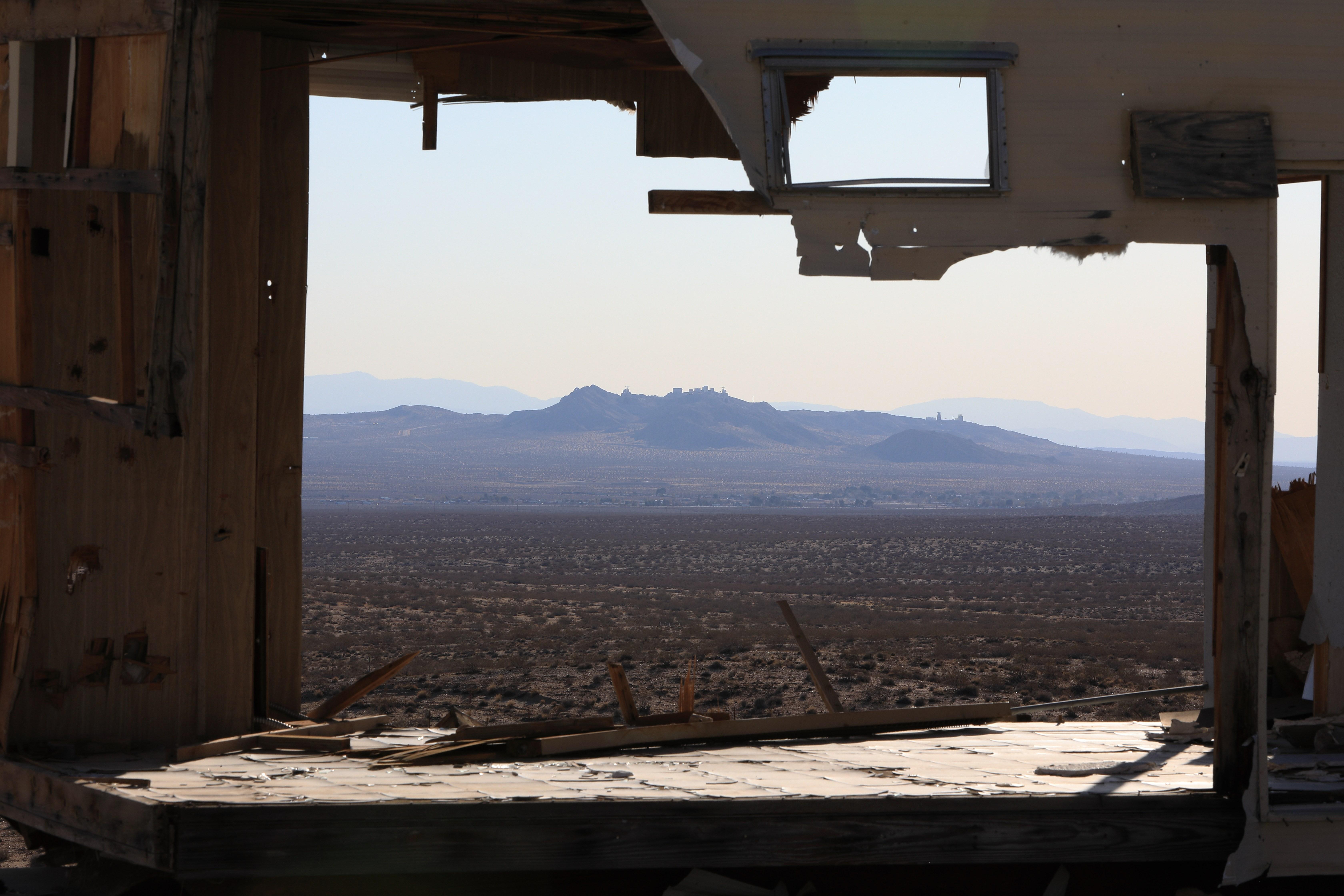 Boron Estates View Towards Rio Tinto Borax Mine
