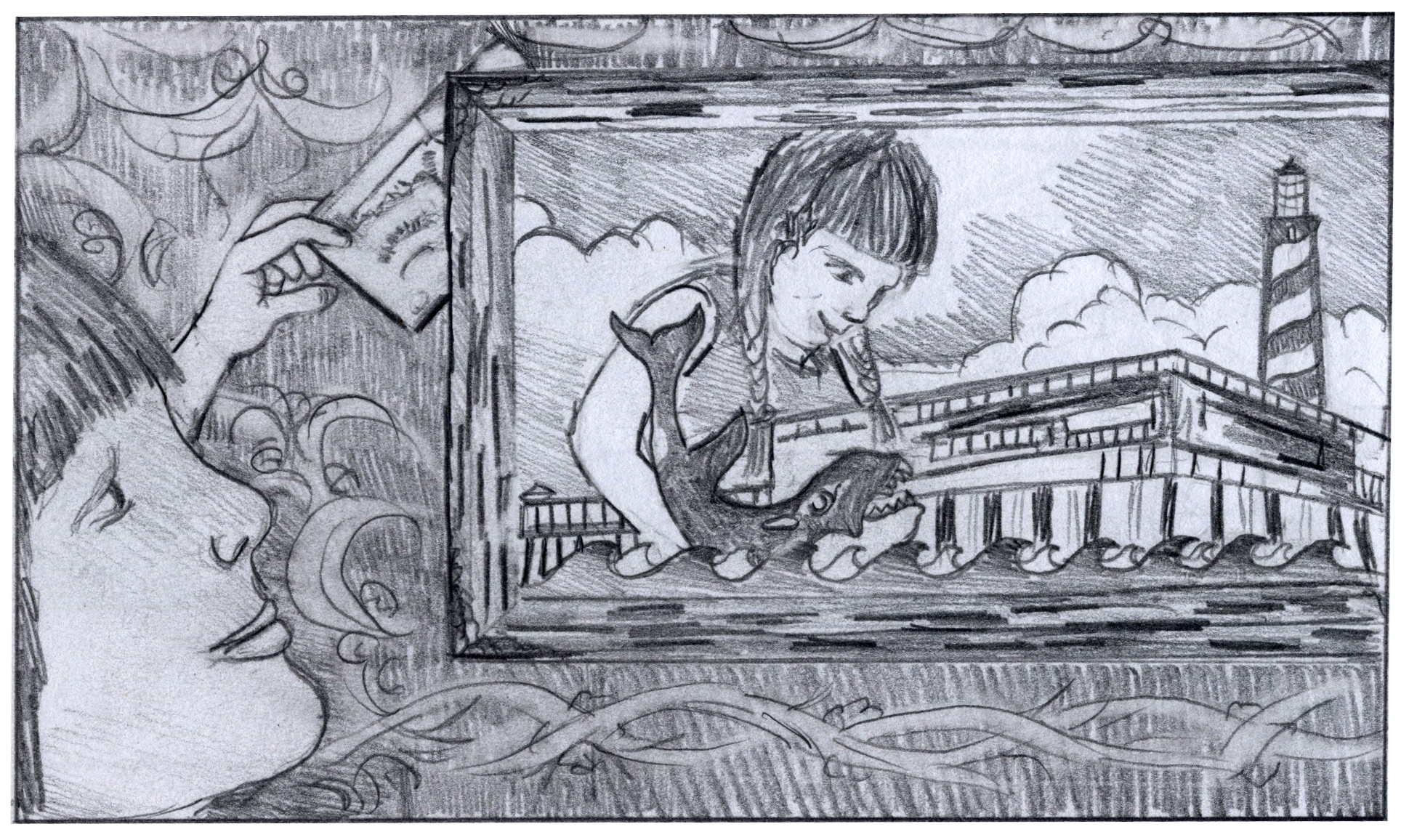 storyboard for UF Shands commercial