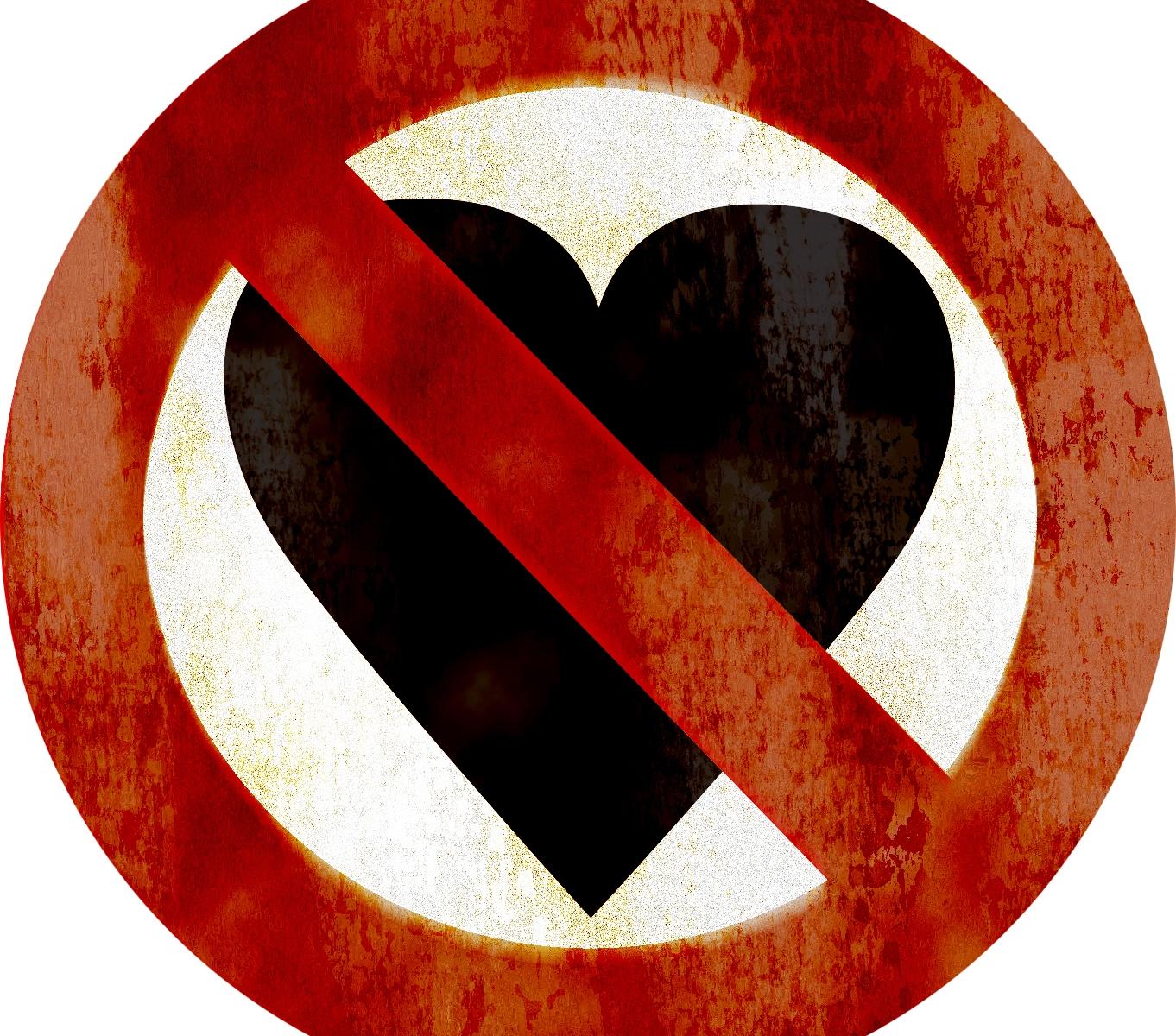 Graphic Design - No Heart Logo