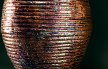 Raku ware, Ceramic, hand-made vessel