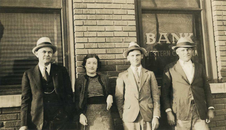 Old Photo, Bank of Western Carolina