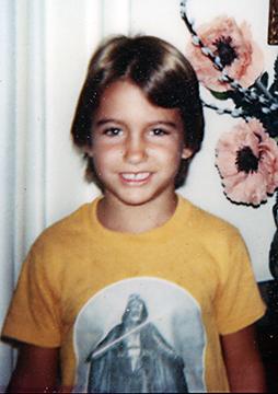 Rhyan Taylor in a Darth Vader shirt